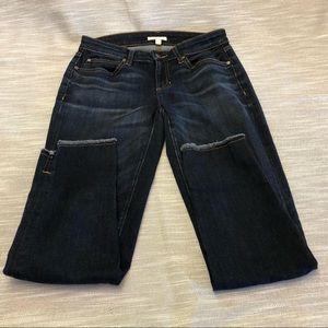 Eileen Fisher Frayed Hem Jeans